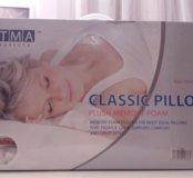Ортопедическая подушка с эффектом памяти.