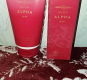 Набор Alpha(лосьон/парфюм)