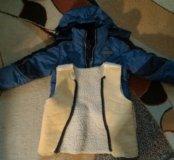 Продам курточку (осень - зима) с подстежкой