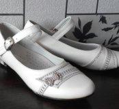 Белые туфли р.34