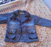 Модный пиджак для мальчика 1,5-2 лет.