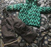 Новый Комплект на мальчика куртка и штаны
