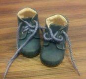Ботинки весенние 19 размер