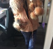 Куртка из волка на весну