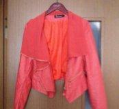 Кожанная куртка 42-44