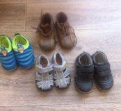 Обувь пакетом р-р 23-24