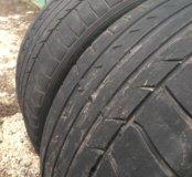 Летняя резина 255/40 R17 Dunlop