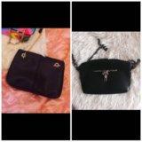 Две Чёрные сумочки новые две сумки за 750р