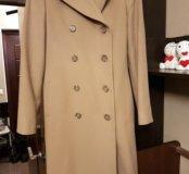 Пальто бу после химчистки 44-46