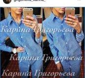 Рубашка длинная новая