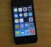 Черный iphone 4, 32гб