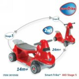 КАТАЛКА-САМОКАТ 2 В 1 SMART TRIKE ALL IN ONE