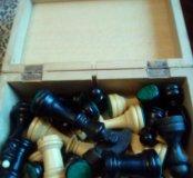 Шахматы деревянные советских времен