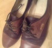 Новая кожаная обувь 38р