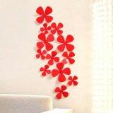 Декор 3D цветы (набор 12шт)