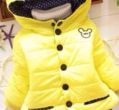 Куртка детская весна новая