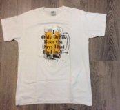 Новая крутая футболка 🍺48-50