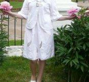 Платье и пиджак 46-48 р. На рост 160 см