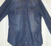 джинсовая рубашка tezenis