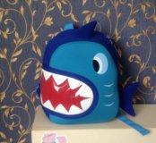 Рюкзак акула новый👍🏻