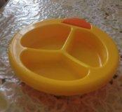 Новая тарелочка для малыша
