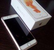 IPhone 6s 64 Gb Rose Gold на гарантии
