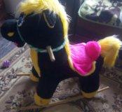 Качалка-цирковой конь