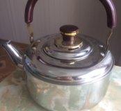 Новый чайник со свистком 3л