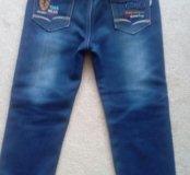 Детские джинсы утепленные немного