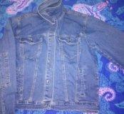 Куртка мужская джинсовая 52-54 р