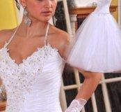 Новое недорогое пышное свадебное платье