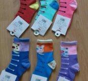 Новые носки для девочек.