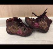 Кожаные ботиночки для первых шагов