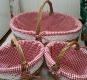 Набор овальных корзин