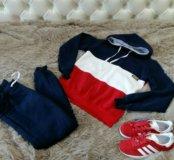 Костюм женский спортивный новый флис