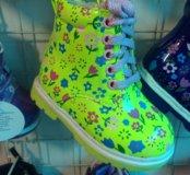 Новые ботиночки весна-осень