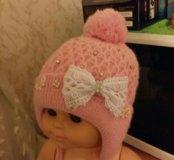 Тёплые зимние осенние шапки