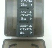 Флешка PS VITA 32GB,16GB, 8GB