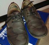 Ботинки, 42 размер, нубук