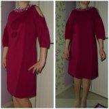 Винное платья новое