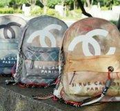 Рюкзак chanel backpack graffiti