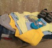 Набор вещей для мальчика на весну от 1 до 2 лет