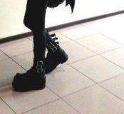 Обувь Demonia ботинки сапоги платформа