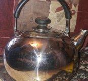 Отличный чайник Peterhof сталь нержавейка