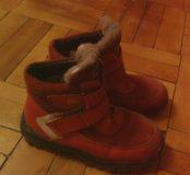 Ботинки на девочку весна осень