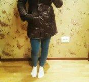 Пальто пуховик Bershka