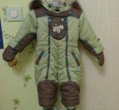 Детский комбинезон зима 74 рост