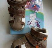 Кожаные сандали Flamingo