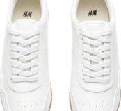 Новые кроссовки-кеды H&M