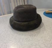 Женская шляпа зимняя